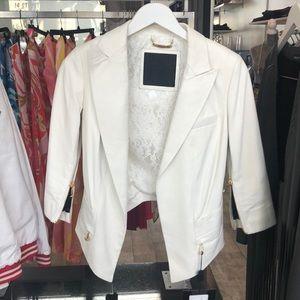 Sold Philipp Plein Lamb Leather jacket size small